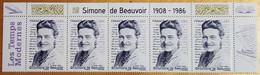 """2021 - Y/T 5473 """"SIMONE DE BEAUVOIR 1908 - 1986"""" - HAUT DE FEUILLET - NEUF - Nuovi"""