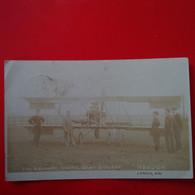 CARTE PHOTO AVION HENDON THE GRAHAME WHITE BABY BIPLANE - ....-1914: Precursori