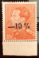 "België, 1936 -- Nr 435A, Postfris **, Type ""Poortman"" -10% - Curiositeit! - Kuriositäten"
