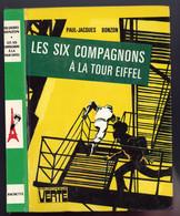 """Bibliothèque Verte - Paul-Jacques Bonzon - """"Les Six Compagnons à La Tour Eiffel """" - 1976 - Bibliotheque Verte"""