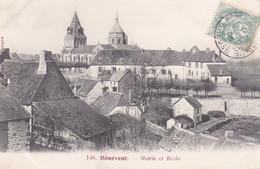 Benevent Mairie Et école - Benevent L'Abbaye