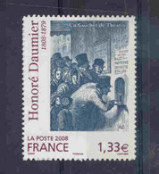 N°224 Daumier Autocollant Cote 240€ - Luchtpost
