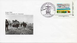 Enveloppe Avec Cachet Commémoratif 65è ANNIVERSAIRE DU DEBARQUEMENT - Cachet 5 Et 6 Juin 2009 - 14 OUISTREHAM - Bolli Commemorativi