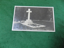 MILITARY WWI Guerre 1914-1918: NORWICH Cathedral Nurse Edith Cavell's Grave B&w Hayward - Guerra 1914-18