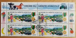 """2021 - Y/T 5474 """"ORDRE DU MERITE AGRICOLE"""" - BLOC 4T HAUT DE FEUILLET - OBLITERE 1er JOUR 12.03.2021 - PARIS - Usati"""