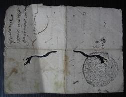 1679 Cachet Sur Reconnaissance De Dette - Manuscripts