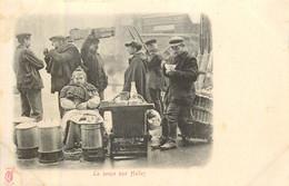 PARIS Pittoresque , Les Petits Métiers éditeur K F ( Carte 1900) - La Soupe Aux Halles -  - - Artigianato Di Parigi