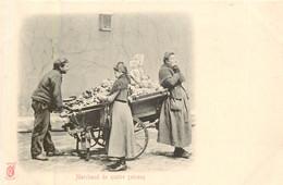 PARIS Pittoresque , Les Petits Métiers éditeur K F ( Carte 1900) - Marchand De Quatres Saisons   - - Artigianato Di Parigi