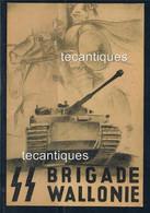 ORIGINAL WW2 RARE NAZI Waffen SS Wallonie Recruitment  POSTCARD - 1939-45