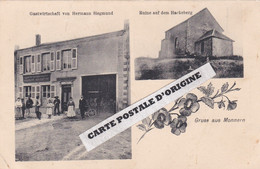 57 - GRUSS AUS MONNERN - GASWIRTSCHAFT VON HERMANN SIEGMUND - RIUNE AUF DEM HACKEBERG - Andere Gemeenten