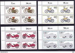 Duitsland West 1983 Nr 1000/03 ** In Blok Van 4 St, Zeer Mooi Lot K 350    KOOPJE !!! - Collections (without Album)