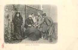 PARIS Pittoresque ,les Petits Métiers éditeur KF (carte 1900) - Joueurs De Bonneteau - - Artigianato Di Parigi