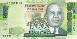 MALAWI 1000 KWACHA 2016 UNC P 67 B - Malawi