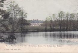 Le Nouvion En Thierache Domaine De Guise Vue Du Lac Et Du Chateau - Otros Municipios