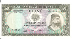 GUINEE PORTUGAISE 50 ESCUDOS 1971 UNC P 44 - Guinea