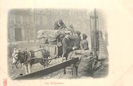 PARIS Pittoresque ,les Petits Métiers éditeur KF (carte 1900) - Les Chiffonniers - - Artigianato Di Parigi