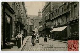 CPA 22 Côtes D'Armor Saint-Brieuc Rue Saint-Gilles - Saint-Brieuc