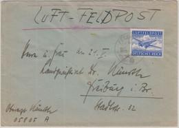 DR - Luftfeldpostbrief Fp.Nr. 05805A 17.5.42 N. Freiburg /Br. - Cartas