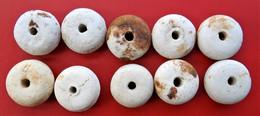 Lot De 10 Perle De Grenade Allemand WWI Fouille - Decorative Weapons