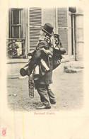 PARIS Pittoresque ,les Petits Métiers éditeur KF (carte 1900) -  Marchand D'habits   - - Artigianato Di Parigi