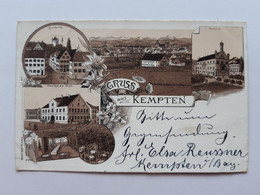 #2 Allemagne Germany Deutschland Bavaria Kempten 1897 , Circuler 2 - Kempten