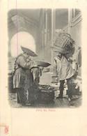 PARIS Pittoresque ,les Petits Métiers éditeur KF (carte 1900) -  Forts Des Halles  - - Artigianato Di Parigi
