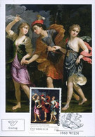 62830 Austria, Maximum 2021 Painting Of Benedetto Gennari,theseus With The Two Daughters Of Minos,mythology - Altri