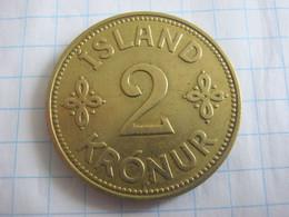 Iceland 2 Kronur 1940 - Iceland