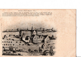 COLLECT. FOIGNY (Aisne). N°7. - L'abbaye En 1720. - Fondé En 1121... ETAT NEUF.  Voir SCANS Recto-verso - Unclassified