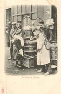 PARIS Pittoresque ,les Petits Métiers éditeur KF (carte 1900) -  La Marchande De Marrons    - - Artigianato Di Parigi