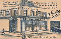 28 CHARTRES L'HOTEL DE LA POSTE   TRES BON ETAT - Chartres