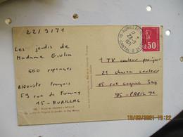 Aurillac  Annexe 2 Horodateur Cachet Horoplan - 1921-1960: Periodo Moderno