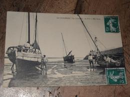 ILE D'OLERON : La Cotiniere, Le Port A Marée Basse ............. 201101b-2928 - Ile D'Oléron