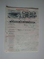 42 Feurs,Automobiles Rousson,ateliers De La Plaine Du Forez,locomobiles,machines à Vapeur 1914 - Automovilismo