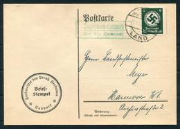 Germany Dienstpost Landpost Postcard - Storia Postale