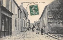 21-5295 : TOURS-SUR-MARNE. RUE DE LA POSTE - Altri Comuni