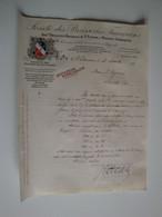 42 Saint-Etienne,anc Brasserie Nationale De St Etienne & Malterie Stéphanoise,La Nationale 1911 - Alimentos