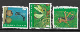 IVORY COAST 1979 INSECTS - Costa D'Avorio (1960-...)