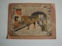 Les Chemins De Fer,funiculaire De La Croix-Rousse à Lyon(La Ficelle) Les Armes De Lyon - Transporte