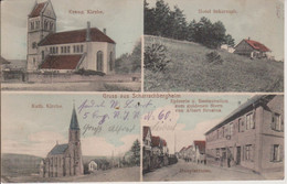 67 - SCHARRACHBERGHEIM - 4 VUES - GRUSS AUS - Other Municipalities