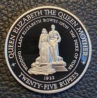 """Seychellen 25 Rupees 1994 (PROOF) """"Queen Mother"""" Silver - Seychelles"""