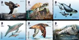 2021 Europa 2021 Endangered National Wildlife - Stamp Set, Jersey, MNH - Jersey