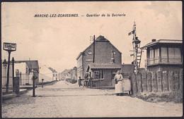 +++ CPA - MARCHE LEZ ECAUSSINNES - Quartier De La Sucrerie - Chemin De Fer  // - Ecaussinnes