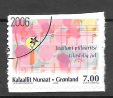 AFA # 481   Greenland Used 2006        Self-adhesive - Gebraucht