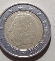 2003 - BELGIO  - MONETA DEL VALORE DI 2  EURO  - CIRCOLANTE - Belgien
