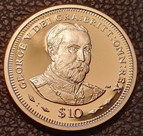 "British Virgin Islands 10 Dollars 2006 (PROOF) ""King George V"" Silver - British Virgin Islands"