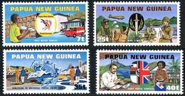 Papouasie Papua New Guinea 1980 Douglas DC-3 UPU Admission (YT 380 , Mi 381, SG 380, Scott 512) - Airplanes