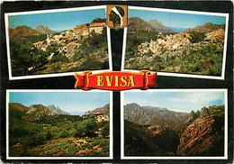 20 - Evisa - Multivues - CPM - Voir Scans Recto-Verso - Otros Municipios