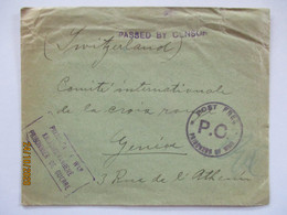 Südafrika Kriegsgefangenenpost POW Prisoners Camp Pietermaritzburg 1915 (49869) - War 1914-18