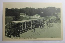 Cpa ROYAN Ronce Les Bains Le Tram Forestier - TOZ04 - Royan